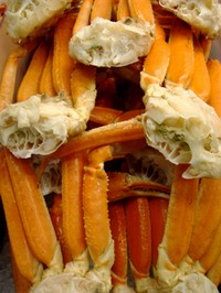 cooked snow crab